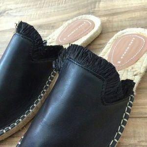 Zara WOMAN Leather Mules